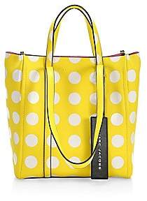 Marc Jacobs Women's The Tag Polka Dot Tote