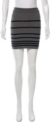 Rag & Bone Ribbed Mini Skirt