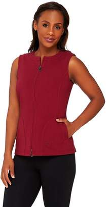 Linea By Louis Dell'olio Leisure by Louis Dell'Olio Zip Front Knit Vest