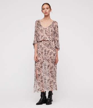AllSaints Chesca Petal Maxi Dress