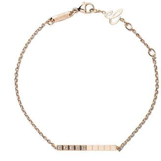 Chopard 18kt rose gold Ice Cube Pure diamond bracelet