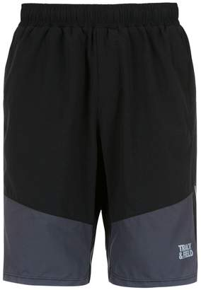 Track & Field panelled Onix shorts