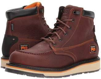 Timberland Gridworks 6 Moc Soft Toe Waterproof Men's Work Lace-up Boots
