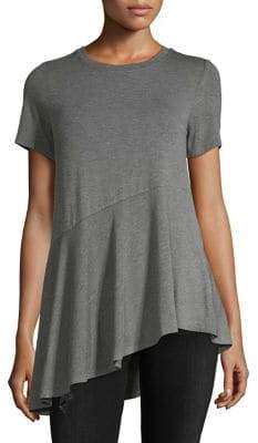 Vero Moda Elise Short-Sleeve Heathered Top