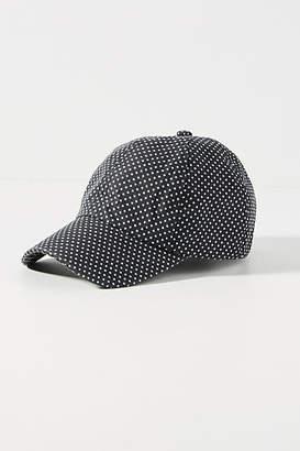 Anthropologie Polka-Dotted Baseball Cap