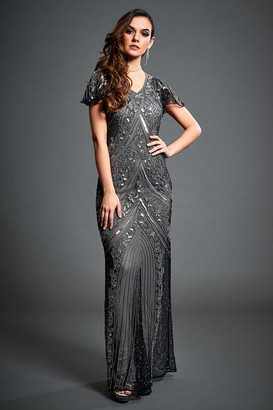 113cf7f01c9 Jywal Lima Embellished Evening Maxi Dress