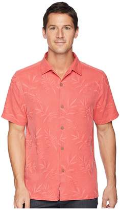 Tommy Bahama Luau Floral Camp Shirt Men's Clothing