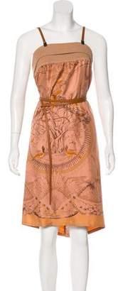 Hermes Silk Fauna Dress