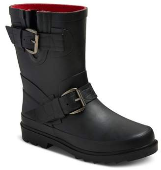 Cat & Jack Girls' Glory Moto Rain Boots Cat & Jack - Black $24.99 thestylecure.com