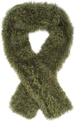 Yves Salomon fluffy scarf
