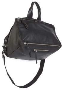 Givenchy Pandora Grained-Leather Messenger Bag