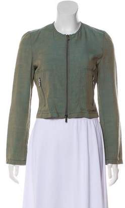 Emporio Armani Casual Zip-Up Jacket