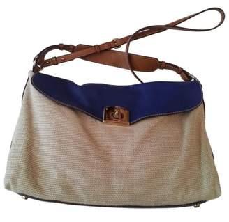 Sergio Rossi Camel Handbag