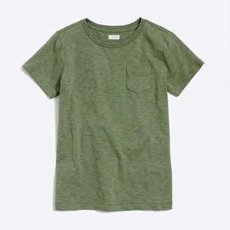 J.Crew Factory Kids' sunwashed garment-dyed pocket T-shirt : FactoryBoys Back to School Shop | Factory