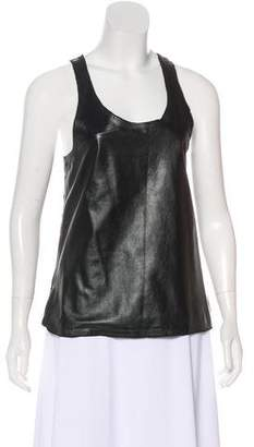 Tom Ford Sleeveless Leather Top