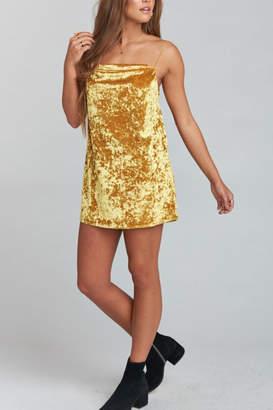 Show Me Your Mumu Sabine Velvet Slip Dress