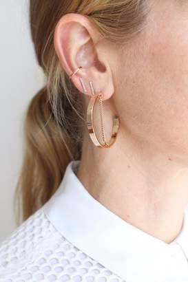 Jenny Bird Mia Hoop Earring $60 thestylecure.com