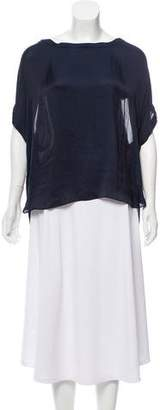 Vince Short Sleeve Draped Top