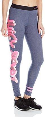 Juicy Couture Black Label Women's Sport Denim Compression Legging $128 thestylecure.com
