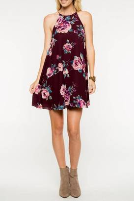 Everly Floral Shift Dress $56 thestylecure.com