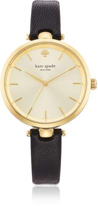 Kate Spade Holland Black Skinny Strap Women's Watch