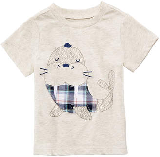 First Impressions Graphic-Print Shirt, Baby Boys, Created for Macy's