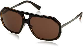 Dolce & Gabbana Men's Metal Man Aviator Sunglasses