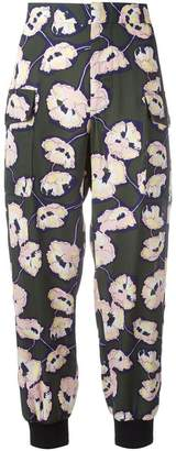 Marni Whisper print trackpants