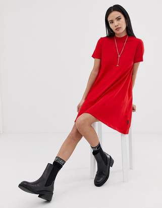 Cheap Monday Mystic logo a-line t-shirt dress