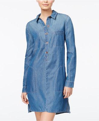 Jessica Simpson Denim Shirtdress $69.50 thestylecure.com