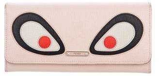 Fendi Leather Monster Wallet