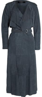 Muubaa Rutland Suede Trench Coat $995 thestylecure.com