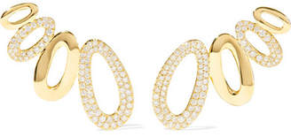 Ippolita Cherish 18-karat Gold Diamond Earrings
