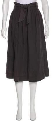 Ulla Johnson Belted Midi Skirt