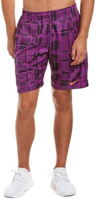 Nike Court Dri-Fit Plaid 9In Short