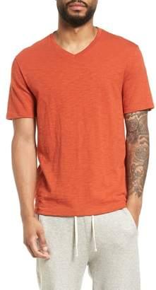 Vince Slim Fit Slub V-Neck T-Shirt