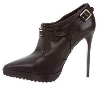 Burberry Leather Ankle Booties