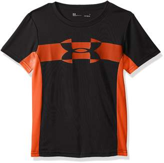 Under Armour Little Boy's Mesh Logo Tech Short Sleeve T-shirt Shirt