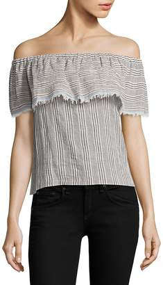 Bailey 44 Women's Ruffled Striped Top