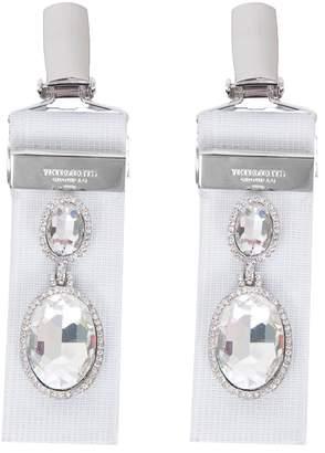 Vetements suspender earrings