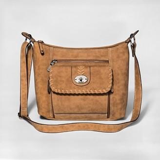 Bolo Women's Bolo Crossbody Handbag - Saddle Brown $39.99 thestylecure.com