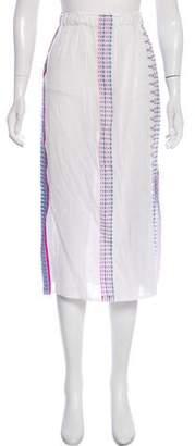 Lemlem Textured Midi Skirt