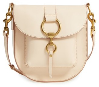 Frye Ilana Leather Saddle Bag - Brown $398 thestylecure.com