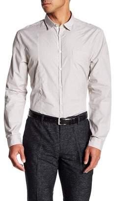 John Varvatos Collection Extra Trim Fit Stripe Sport Shirt