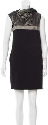 Paco Rabanne Two-Tone Shift Dress w/ Tags