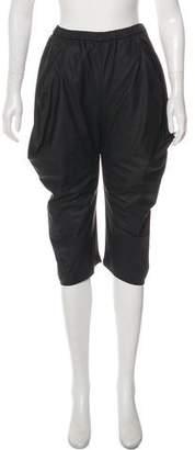 Zero Maria Cornejo High-Rise Cropped Pants