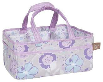 Trend Lab Diaper Caddy - Grace - Lavender Floral