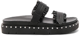 ALLSAINTS Alanna Slide in Black $248 thestylecure.com