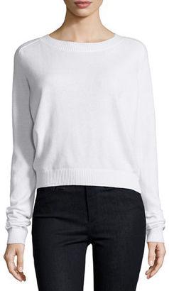 Vince Crewneck Cashmere Pullover Sweater $320 thestylecure.com