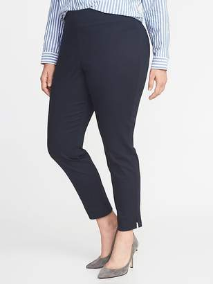 Old Navy High-Rise Side-Zip Plus-Size Pants
